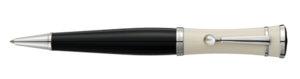 Montblanc Special Edition Greta Garbo Ballpoint Pen Black And Cream 36121 [094b]