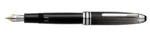 Montblanc Doue Black and White Meisterstuck Pen 101403 [c5fa]